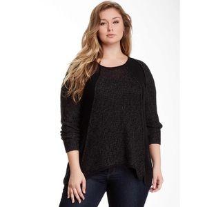 Hi-Low Knit Sweater